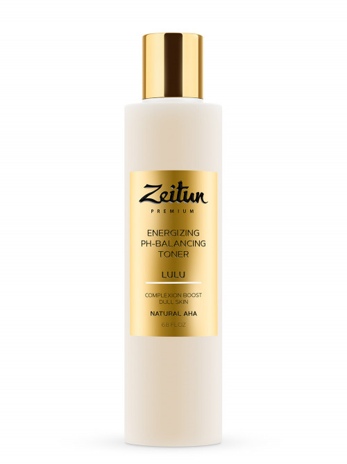 Тоник для лица Lulu. Энергетический и pH-балансирующий для тусклой кожи 200 мл