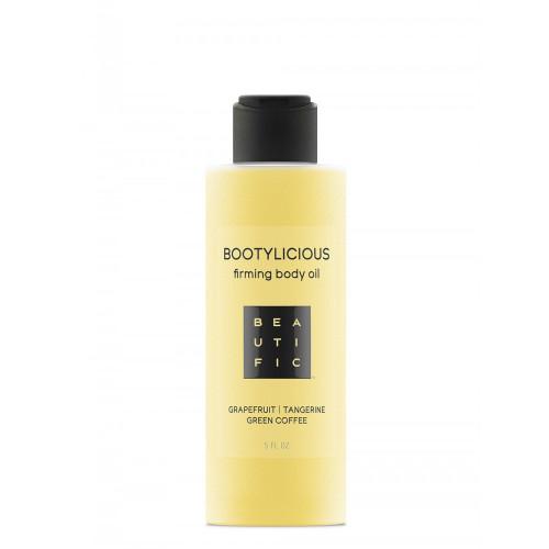 BOOTYLICIOUS антицеллюлитное масло для упругости тела - с эссенцией грейпфрута и зеленым кофе
