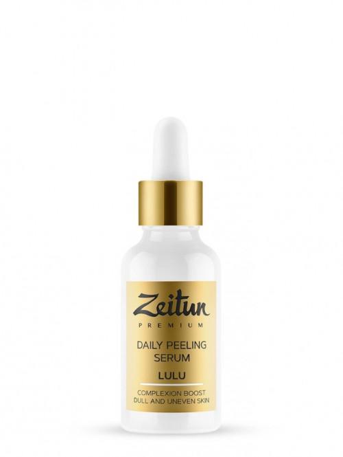 Ежедневная пилинг-сыворотка для лица LULU с натуральными АНА-кислотами 30 мл