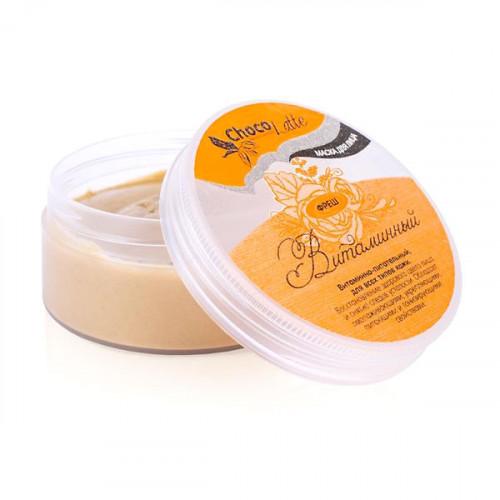 Маска для лица CHOCOLATTE «Витаминный фреш» для всех типов, витаминная, улучшение цвета лица