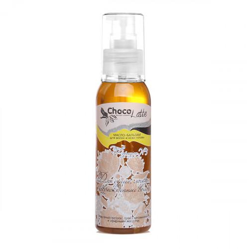 Масло-бальзам для волос CHOCOLATTE ФОРМУЛА №3 для сухих ломких и поврежденных волос, 100 мл
