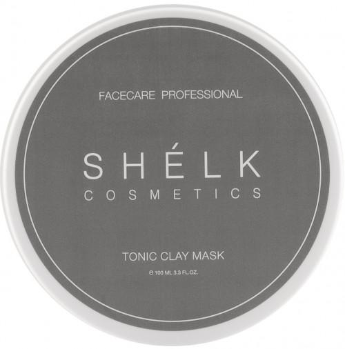 Тонизирующая маска с зеленой глиной и экстрактом зеленого чая SHELK