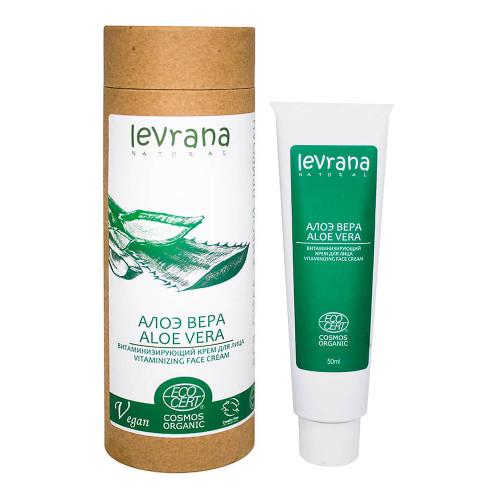 Крем для лица LEVRANA «Алоэ вера» витаминизирующий, 50 мл