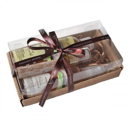 Подарочный набор для волос CHOCOLATTE №9 «Объем и легкость» для жирных и комбинированных волос