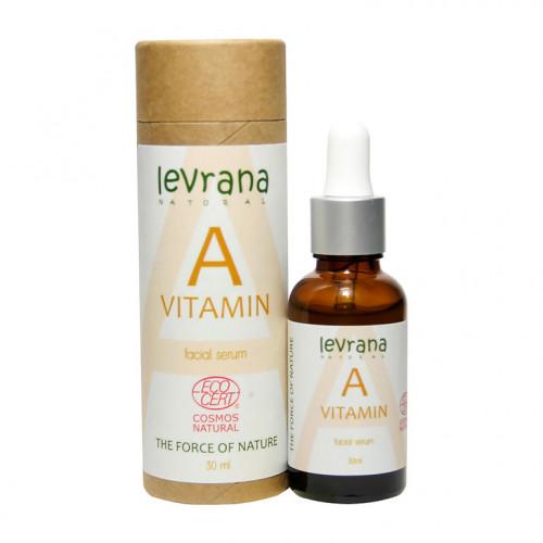 Сыворотка для лица LEVRANA «Витамин А», 30 мл