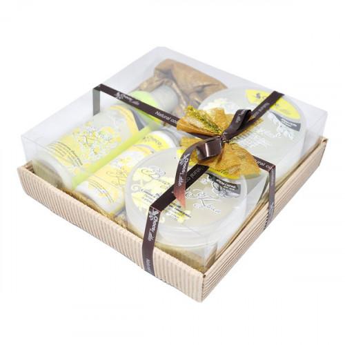 Подарочный набор для тела, волос и душа CHOCOLATTE №8 «Виноград крим»