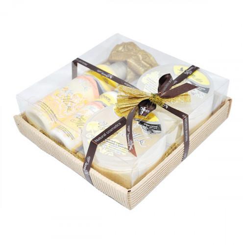 Подарочный набор для тела, волос и душа CHOCOLATTE №8 «Цитрус милк»