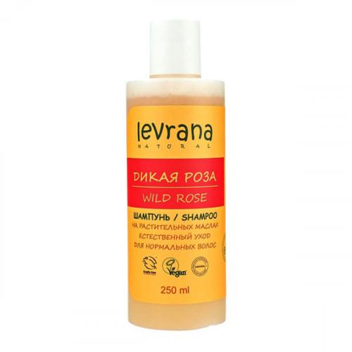 Шампунь LEVRANA для нормальных волос «Дикая роза», 250 мл