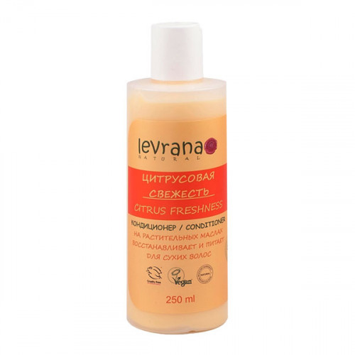 Кондиционер для сухих волос LEVRANA «Цитрусовая свежесть», 250 мл