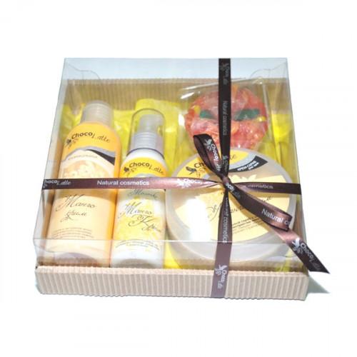 Подарочный набор для тела и душа CHOCOLATTE №4 «Манго крим»