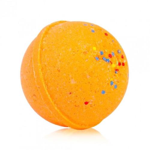 Гейзер (бурлящий макси-шар) для ванн CHOCOLATTE «Оранжетто» с морской солью и маслами, 280 г