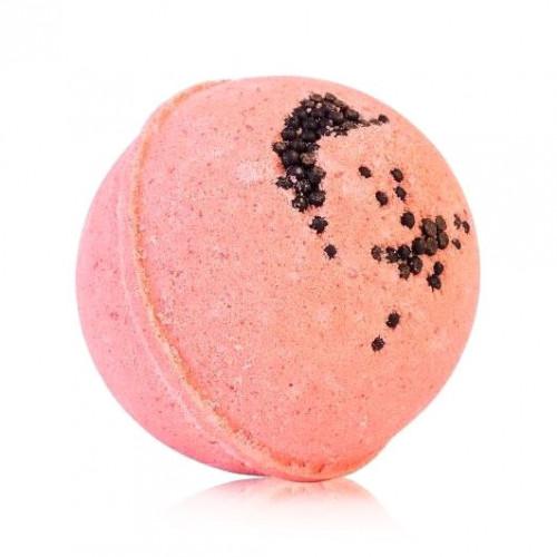Гейзер (бурлящий макси-шар) для ванн CHOCOLATTE «Клубничный соблазн» с морской солью и маслами, 280