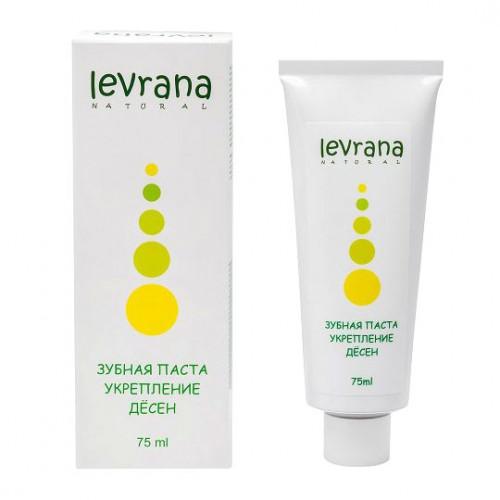 Зубная паста LEVRANA «Укрепление десен», 75 мл