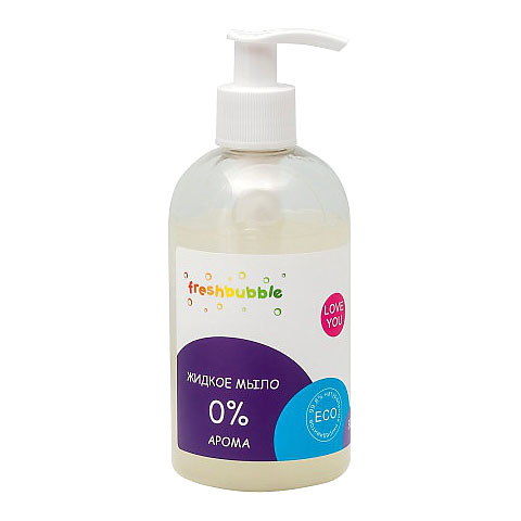 Жидкое мыло LEVRANA Freshbubble «0% арома», 300 мл
