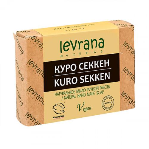 Натуральное мыло ручной работы LEVRANA «Куро Секкен», 100 г