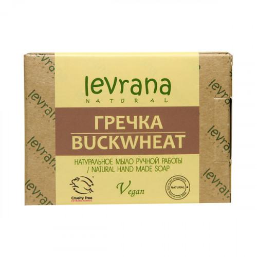 Натуральное мыло ручной работы LEVRANA «Гречка», 100 г