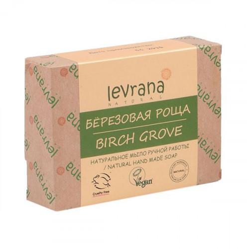 Натуральное мыло ручной работы LEVRANA «Березовая роща», 100 г