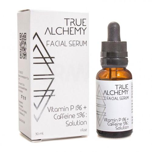 Сыворотка для лица Vitamin P 1% + Coffeine True Alchemy, 30 мл
