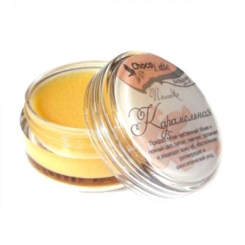 Натуральный бальзам-блеск для губ CHOCOLATTE «Помадка карамельная»