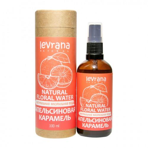 Флоральная вода для лица и тела LEVRANA «Апельсиновая карамель», 100 мл