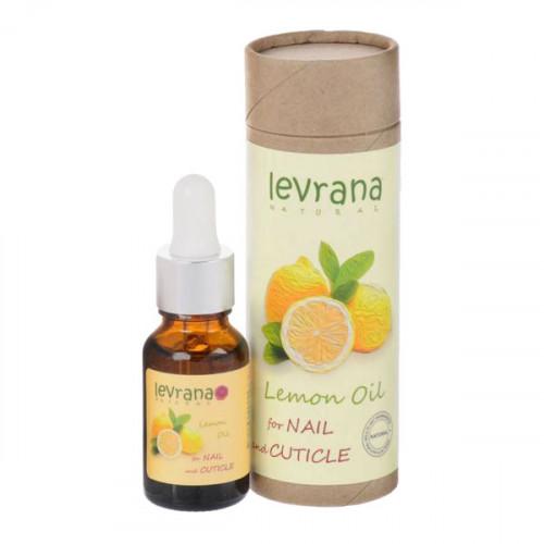 Масло для кутикулы LEVRANA «Лимон», 15 мл