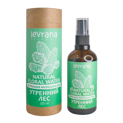 Флоральная вода для лица и тела LEVRANA «Утренний лес», 100 мл