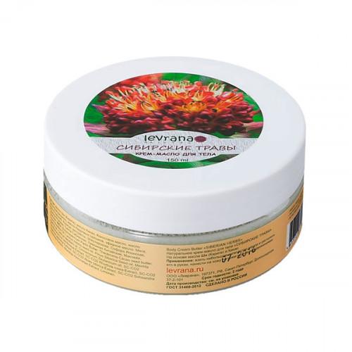 Крем-масло для тела LEVRANA «Сибирские травы», 150 мл