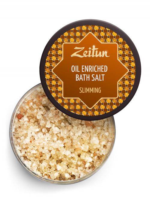Соль для ванн для похудения с маслом грейпфрута, бергамота и корицы 250 мл