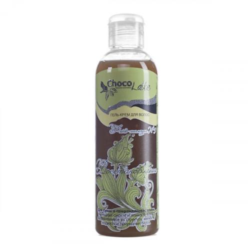 Гель-крем для волос CHOCOLATTE фито-шампунь №3 восстановление, для сухих и поврежденных волос, 200 м