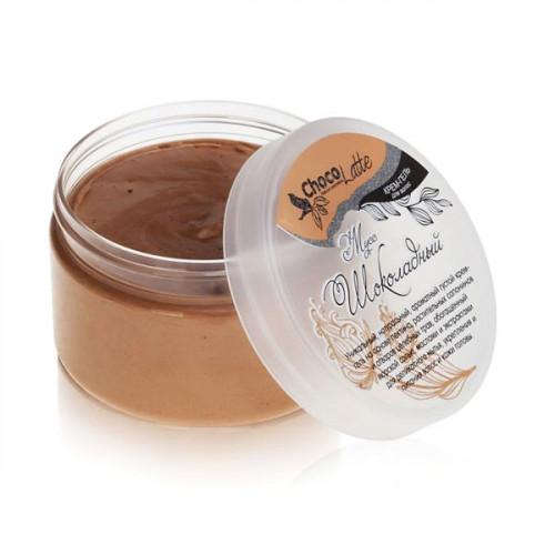 Гель-крем для мытья волос CHOCOLATTE мусс «Шоколадный» натуральный шампунь с какао, 280 мл