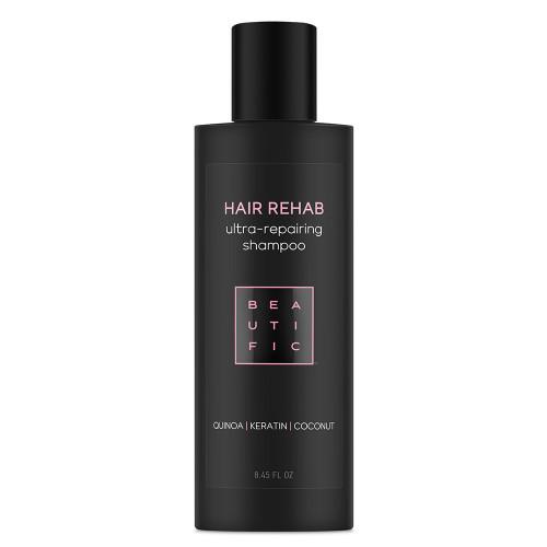 HAIR REHAB супер-восстанавливающий шампунь для поврежденных волос - с протеинами киноа, кератином и