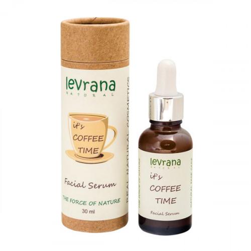 Сыворотка для лица кофеином LEVRANA «It's coffee time», 30 мл