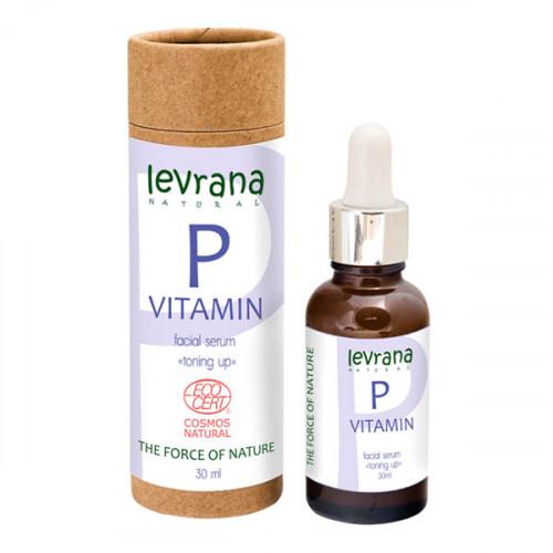 Сыворотка для лица LEVRANA «Витамин Р», 30 мл