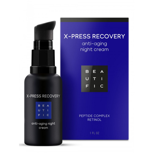 Крем для лица ночной X-PRESS RECOVERY. Антивозрасной. С матриксилом и ретинолом
