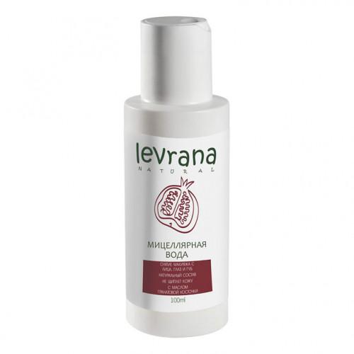 Мицеллярная вода LEVRANA «Гранат» mini, 100 мл