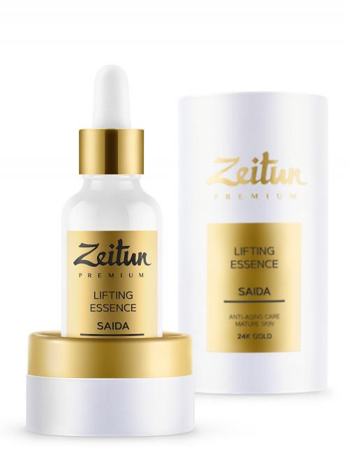 Лифтинг-эссенция SAIDA для зрелой кожи с 24К золотом 30 мл