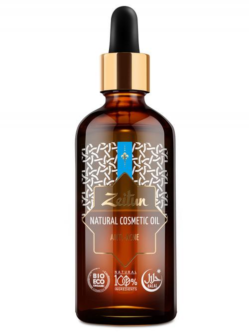 Косметическое масло №9 против акне, для проблемной кожи 100 мл