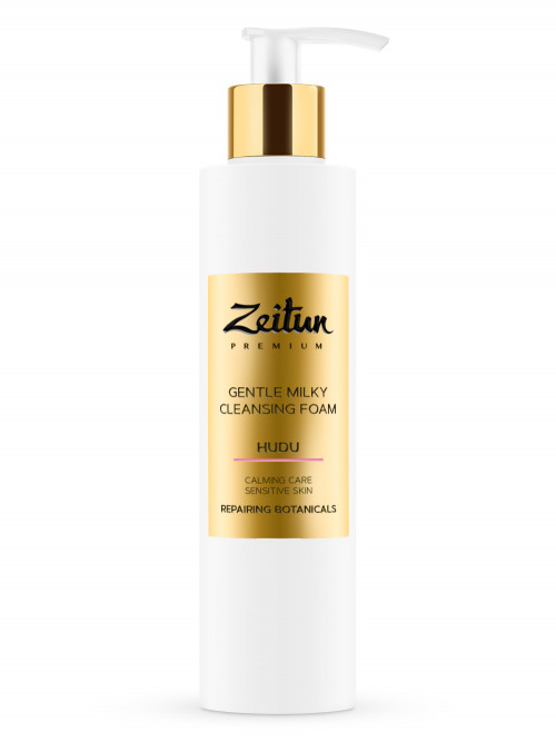 Нежная молочная пенка для умывания Zeitun HUDU для чувствительной кожи 200 мл