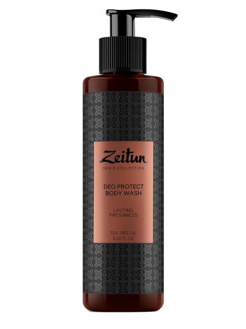 Гель для душа защитный с антибактериальным эффектом для мужчин с маслом чайного дерева 250 мл