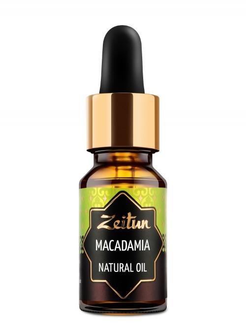 Натуральное растительное масло макадамии 10 мл