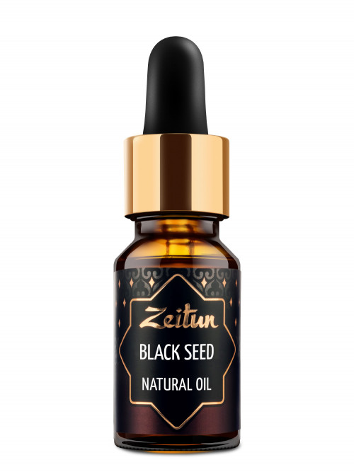 Натуральное растительное масло черного тмина 10 мл