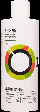 Шампунь REGULAR для жирных волос «Грейпфрут и бергамот»