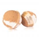 Гейзер (бурлящий шарик) для ванн CHOCOLATTE «Шоколадный десерт» с морской солью и маслами, 120 г