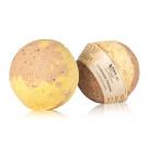 Гейзер (бурлящий шарик) для ванн CHOCOLATTE «Сливочное печенье» с морской солью и маслами, 120 г