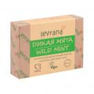 Натуральное мыло ручной работы LEVRANA «Мята», 100 г