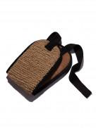 Двухсторонняя мочалка-лента из джута